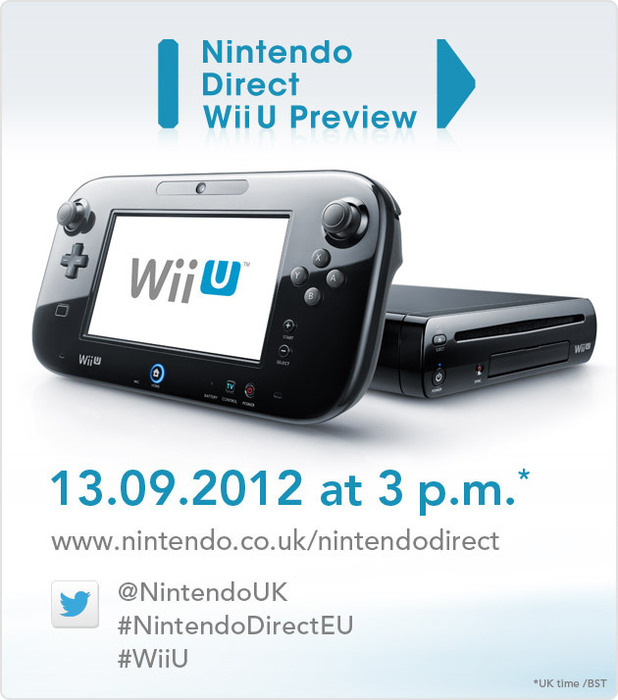 Nintendo Direct Wii U Preview invitation