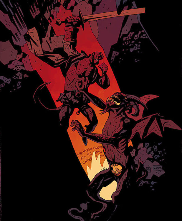 'Hellboy in Hell' #1 preview