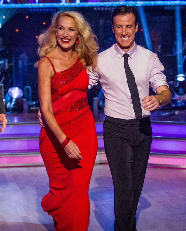 Strictly Come Dancing: Jerry Hall and Anton Du Beke