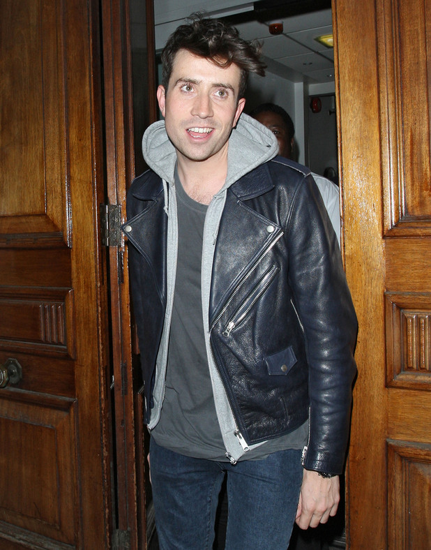 Nick Grimshaw leaving Radio 1 after presenting his last night time show.