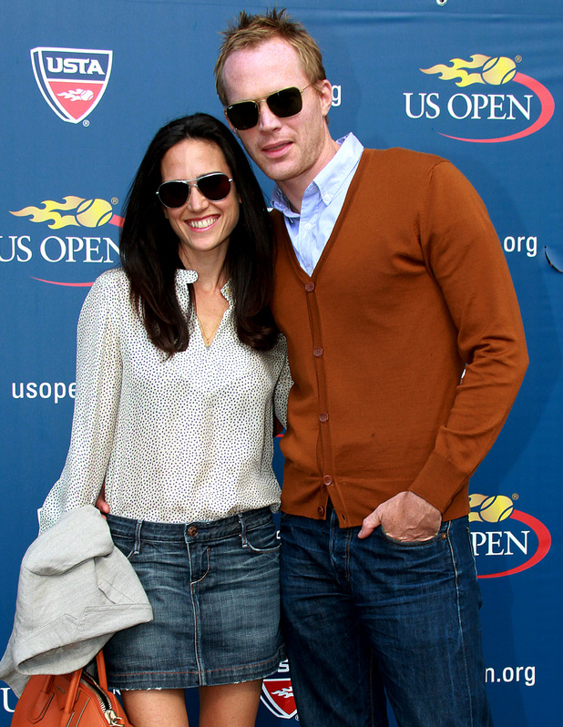 Jennifer Connelly and Paul Bettany Celebrities at the 2012 U.S. Open to watch the Women's Final