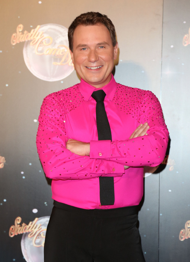 Richard Arnold, Strictly Come Dancing 2012 launch