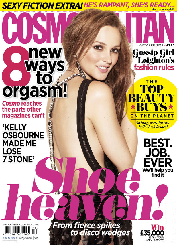 Leighton Meester exclusively in Cosmopolitan