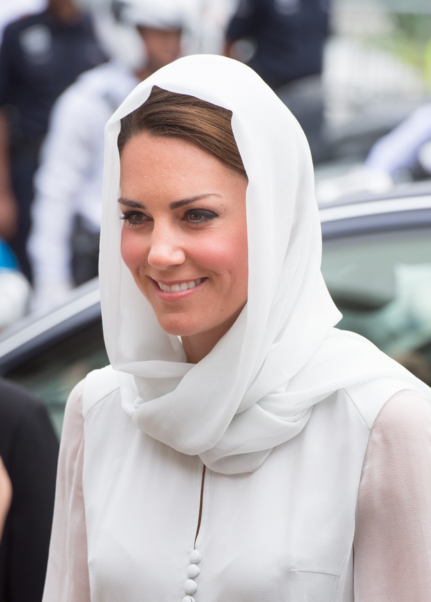 Kate Middleton in Kuala Lumpur