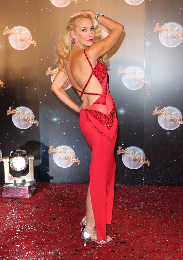 Strictly Come Dancing 2012 launch, Jerry Hall