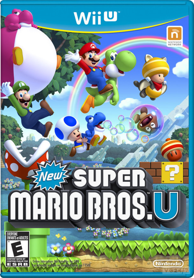 New Super Mario Bros. Wii U cover art