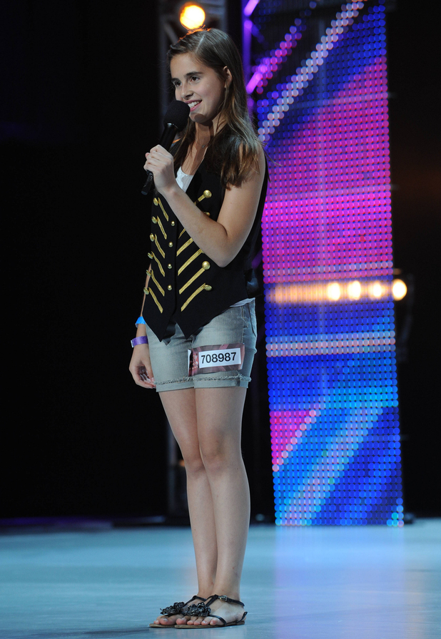 'The X Factor' USA, season 2 episode 2: Carly Rose Sonenclar