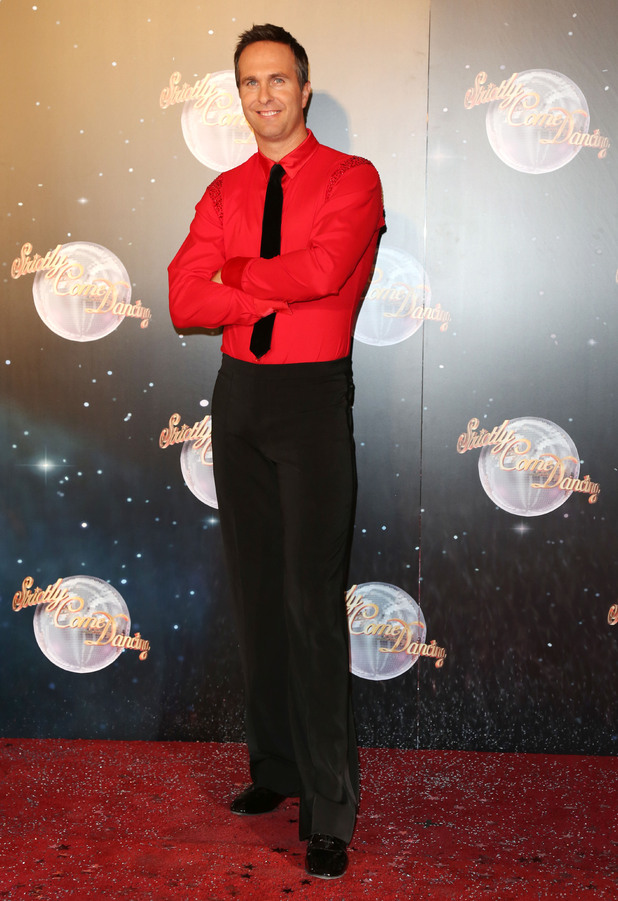 arrives for the <em>Strictly Come Dancing</em> 2012 launch in London.