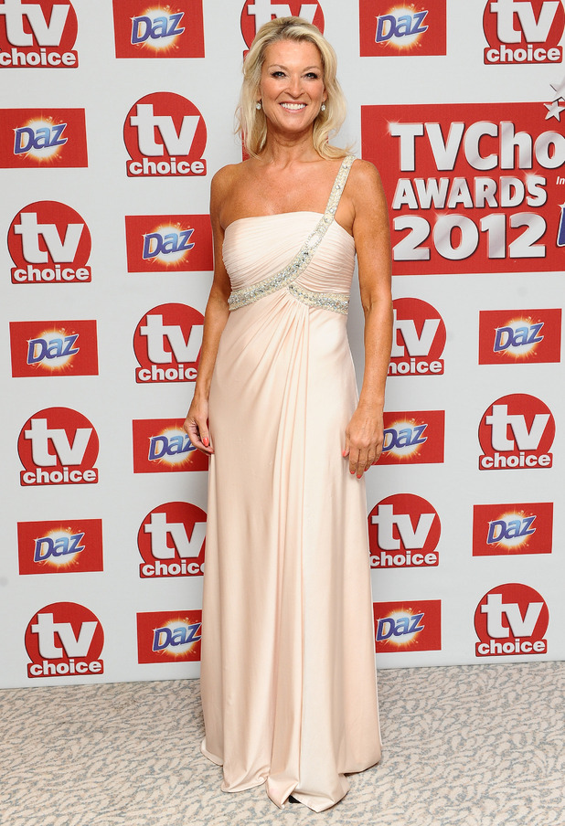 TV Choice Awards Arrivals: Gillian Taylforth