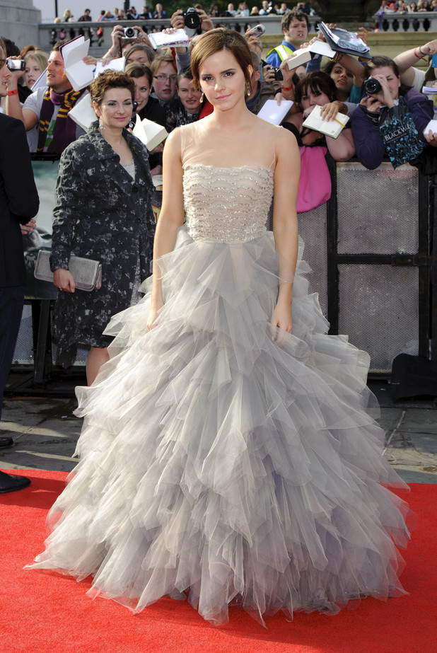 Emma Watson Harry Potter And The Deathly Hallows Part 2 Premiere Dress Emma Watson  Harry Potter and