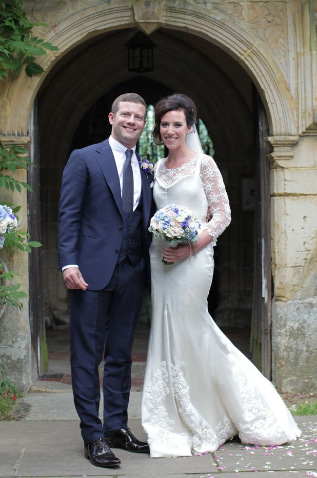 Dermot O'Leary and Dee Koppang