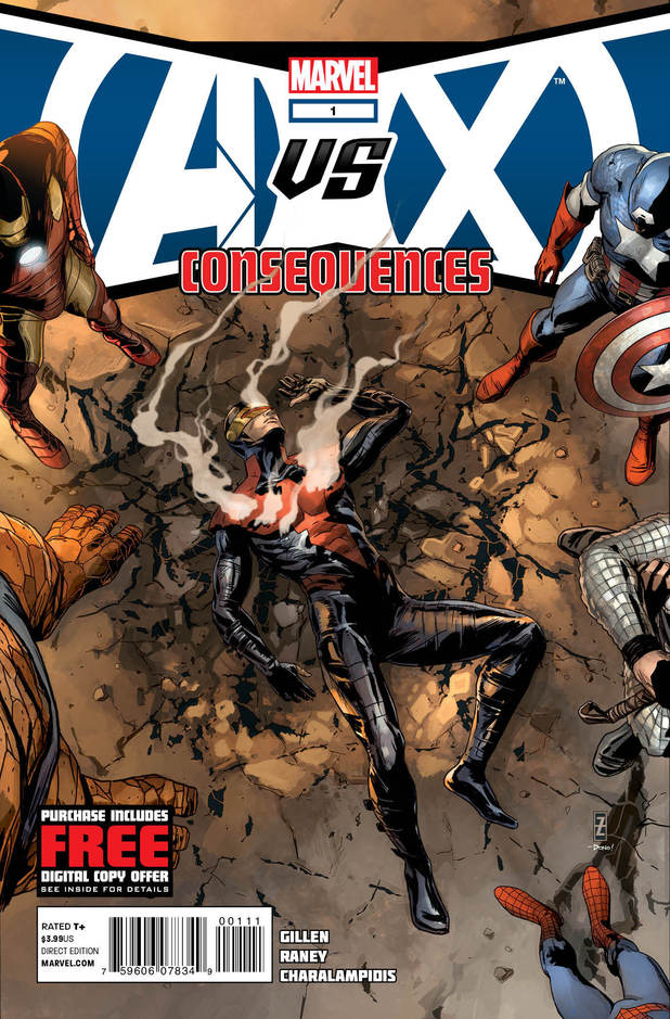Avengers vs X-Men avx Consequences cover