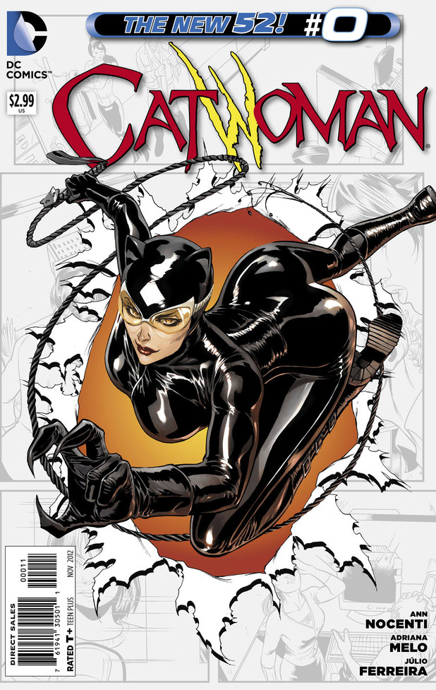 'Catwoman' #0 cover design changed by DC Comics - Comics ...