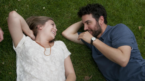Writer-director Josh Radnor stars as a 30-something who returns to his alma mater, and falls for a precocious student (Elizabeth Olsen).