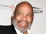 James Avery photographed with his dog at the 2009 Lint Roller Party