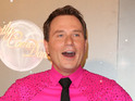 Richard Arnold claims that he fancies a male pro partner on the reality show.