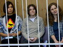 A judge suspends Yekaterina Samutsevich's two-year prison sentence.