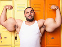 Egyptian man takes world record for biggest biceps, measuring at 31 inches.