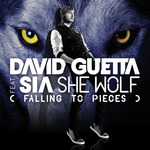 David Guetta ft. Sia: 'She Wolf' artwork