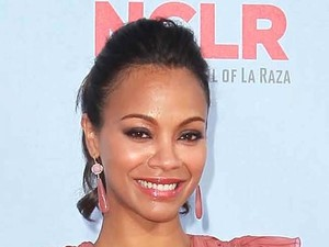 Zoe Saldana 2012 NCLR ALMA Awards, held at Pasadena Civic Auditorium - Arrivals Pasadena, California