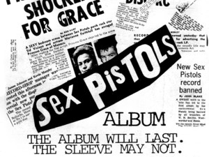 The Sex Pistols: LP Press ad