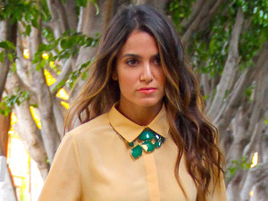 Nikki Reed out and about Los Angeles, Califorina