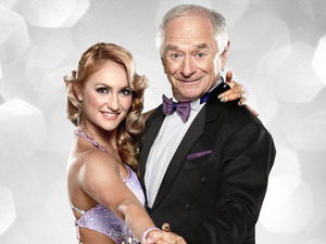 Johnny Ball and Aliona Vilani