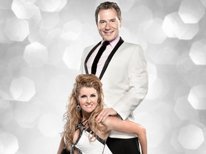 Richard Arnold and Erin Boag