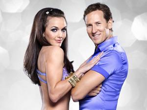 Victoria Pendleton and Brendan Cole