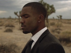 Frank Ocean in 'Pyramids' music video.