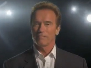 Arnold Schwarzenegger autobiography trailer – video still