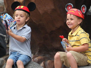 Britney spears's children Jayden james and Sean Preston
