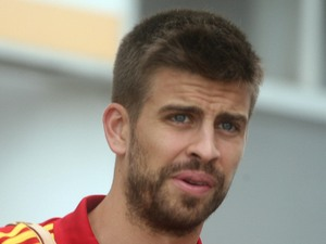 Gerard Pique, August 2012 (PA green label)