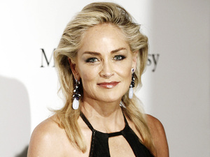 Sharon Stone attends Milan Fashion Week.