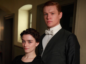 Downton Abbey S03E02: Lucille Sharp as Reed, Matt Milne as Alfred