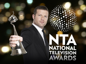 The National Television Awards 2012 with host Dermot O'Leary
