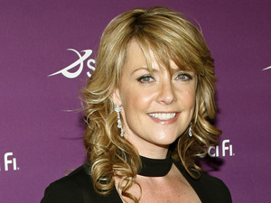 """Sanctuary' cast member Amanda Tapping arrives to the Sci Fi Channel's 2008 Upfront party in New York, Tuesday, March 18, 2008."