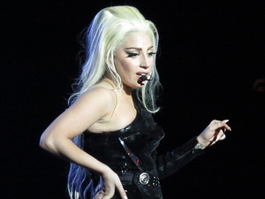 Lady Gaga performs on her 'Born This Way Ball' tour at Twickenham Stadium London, England - 08.09.12 Credit: (Mandatory): WENN.com