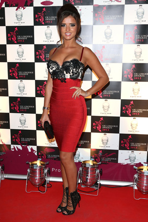 Lucy Mecklenburgh The UK Lingerie Awards 2012 LondonMandatory Credit: Lia Toby/WENN.com