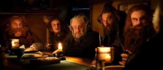 Bilbo's uninvited dwarven guests
