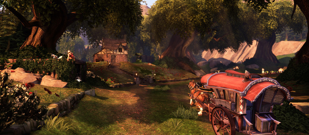 Fable: The Journey screenshot - River Crossing
