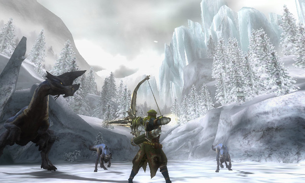 Monster Hunter 3: Tokyo Game Show screenshots