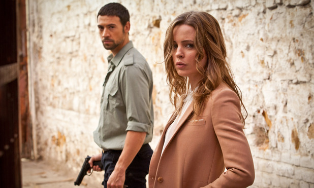 Melissa George as Sam Hunter in 'Hunted'