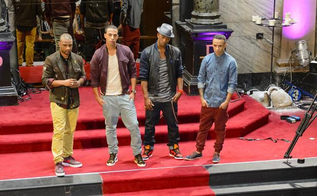 X Factor bootcamp - 22/09: JLS