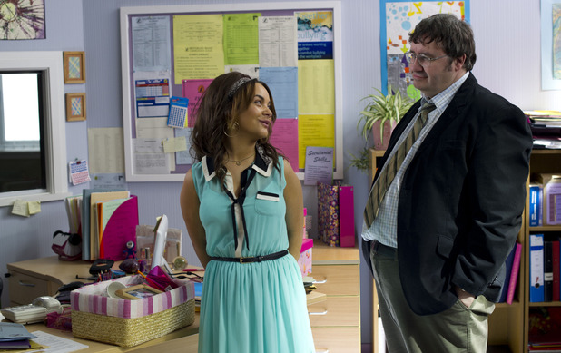 Janeece and Chalky in Waterloo Road