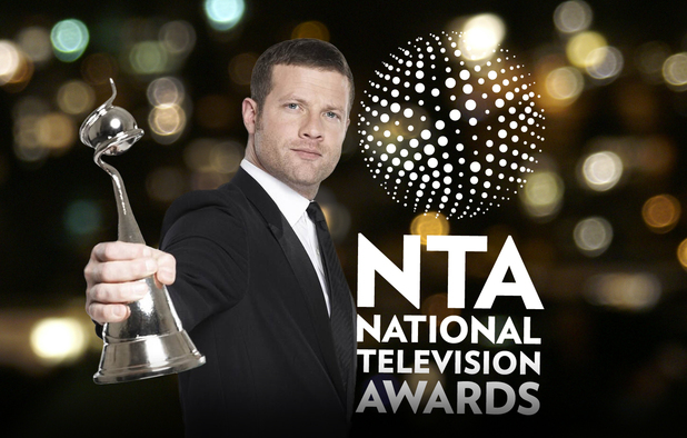 The National Television Awards 2012 with host Dermot O&#39;Leary