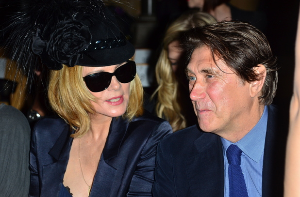 Kim Cattrall and Bryan Ferry