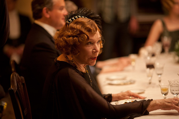 Downton Abbey S03E02: Shirley MacLaine as Martha Levinson