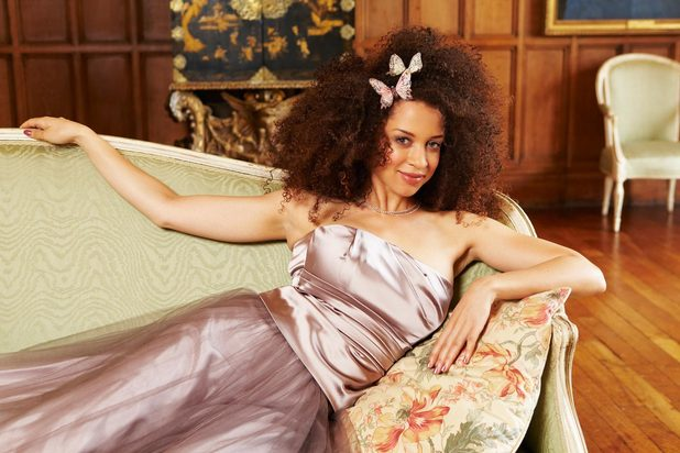 Natalie Gumede photoshoot for Now Magazine