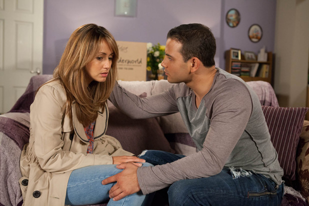 Jason offers to accompany Maria to her next appointment but feels pushed away when she tells him that she has Marcus for that